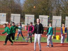 Jeugd clinic House of tennis 2016